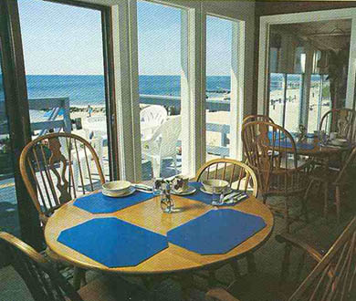 West Dennis Cape Cod vacation rental - Spectacular oceanfront dining room