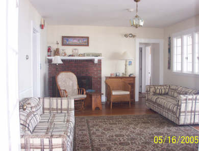 West Dennis Cape Cod vacation rental - Comfortable living room where it's easy to relax