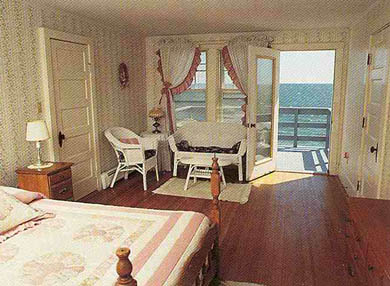 West Dennis Cape Cod vacation rental - Queen bed, private bath, stunning ocean view