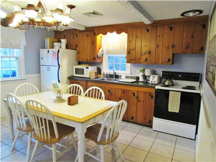 Dennisport Cape Cod vacation rental - Eat-In Kitchen for 6