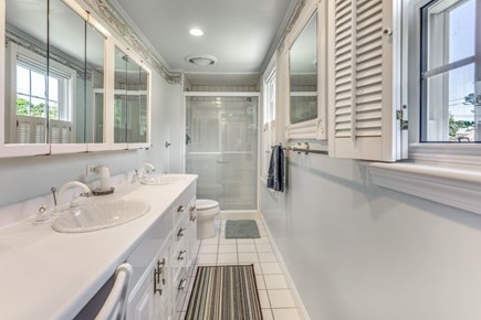South Yarmouth Cape Cod vacation rental - Private bathroom off Master Bedroom