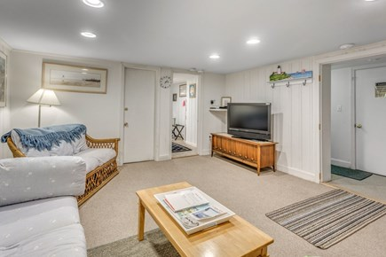 South Yarmouth Cape Cod vacation rental - Family room on lower level