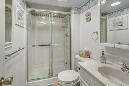South Yarmouth Cape Cod vacation rental - Bath with shower on lower level