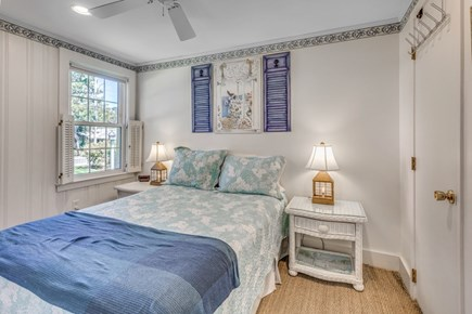 South Yarmouth Cape Cod vacation rental - Bedroom with half bath.