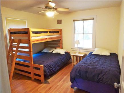 South Orleans Cape Cod vacation rental - First Floor bedroom, two twin and one full size bed