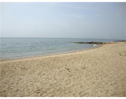 Mashpee, Popponesett Beach Cape Cod vacation rental - Sandy Beach awaits your footprints lookinbg at Vineyard Sound