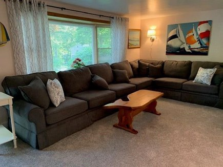 Mashpee, Popponesett Beach Cape Cod vacation rental - Living Room with Smart TV