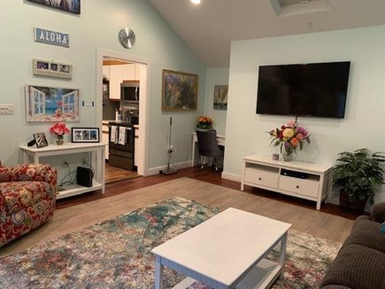 Mashpee, Popponesett Beach Cape Cod vacation rental - Great Room with 60'' HD TV