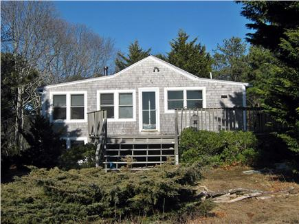 South Wellfleet Cape Cod vacation rental - Deck with stunning views of Wellfleet Bay