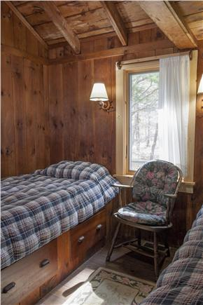 South Wellfleet Cape Cod vacation rental - Second bedroom with built-in twin beds
