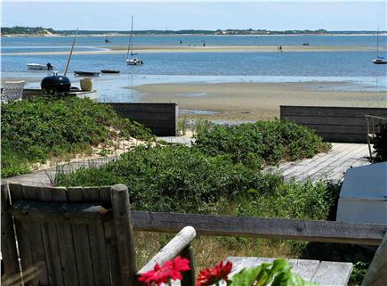 Wellfleet Cape Cod vacation rental - Tide going out