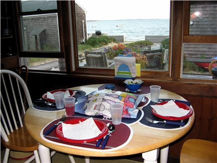 Wellfleet Cape Cod vacation rental - Dining at Sea Urchin
