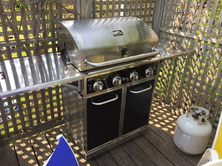 Wellfleet Cape Cod vacation rental - Grill on deck