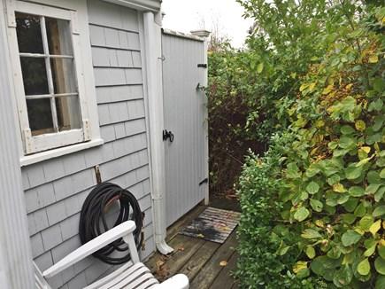 Wellfleet Cape Cod vacation rental - Door to outdoor shower