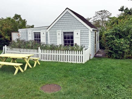 Wellfleet Cape Cod vacation rental - Another view of the side yard