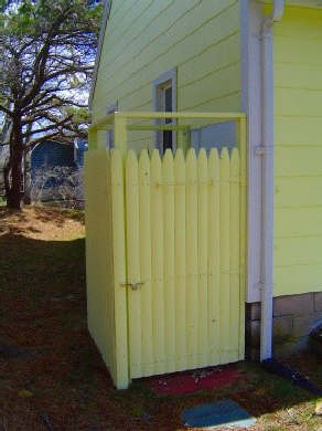 South Wellfleet Cape Cod vacation rental - Extra features like the outdoor shower after a day at the beach