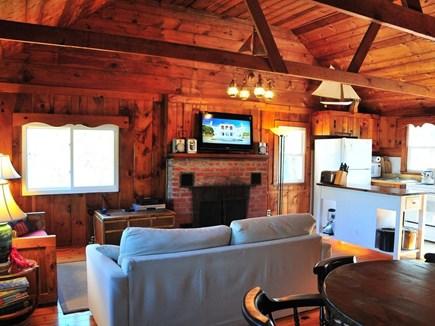 South Wellfleet Cape Cod vacation rental - Comfortable living room