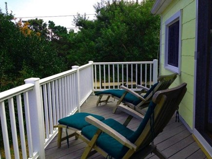 South Wellfleet Cape Cod vacation rental - Relax on the deck, by the ocean & listen to birds