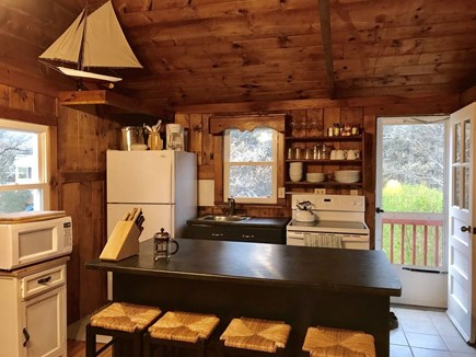 South Wellfleet Cape Cod vacation rental - Breakfast bar seating and well-equipped kitchen