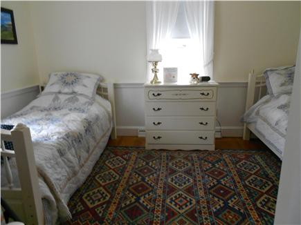 Yarmouthport Cape Cod vacation rental - 2nd BR w/ Twin Beds