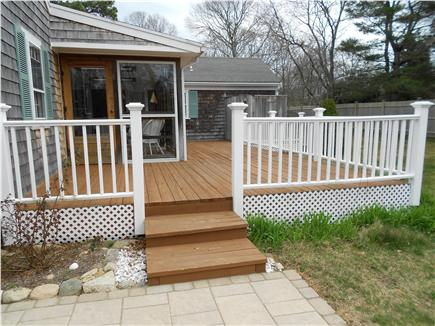 Yarmouthport Cape Cod vacation rental - Deck w/ Outdoor Shower