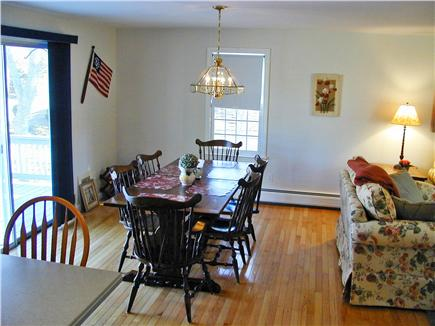 Harwich Cape Cod vacation rental - Dining area and slider to deck