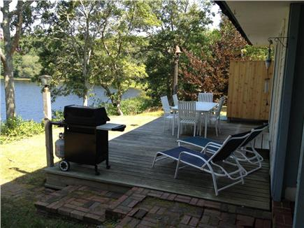 Chatham Cape Cod vacation rental - Back deck