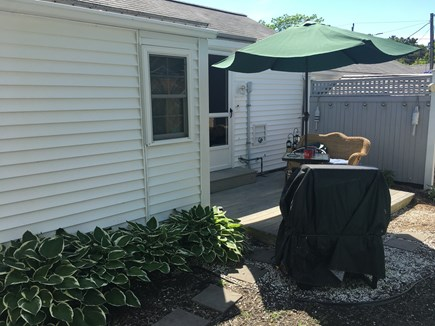 Dennis Port Cape Cod vacation rental - Backyard