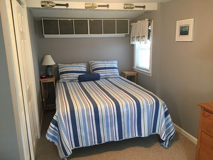 Dennis Port Cape Cod vacation rental - Bedroom, queen size bed, Iron &Ironing board
