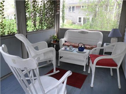 Chatham Cape Cod vacation rental - Spend the whole afternoon on our breezy screened porch!