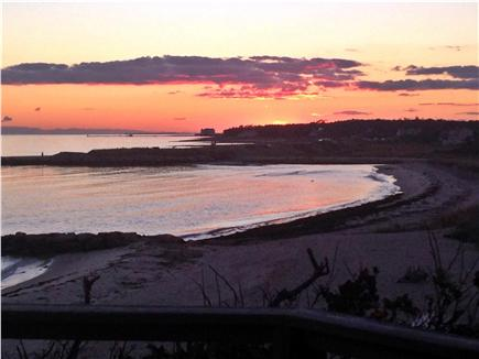 Chatham Cape Cod vacation rental - Sunset off the deck
