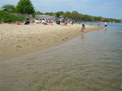 East Falmouth Cape Cod vacation rental - The community beach