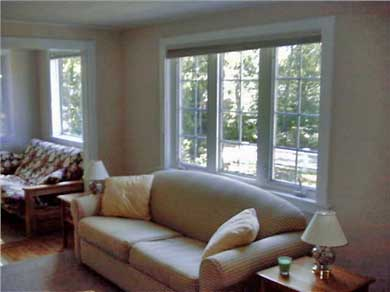 East Falmouth Cape Cod vacation rental - Open living area and family room