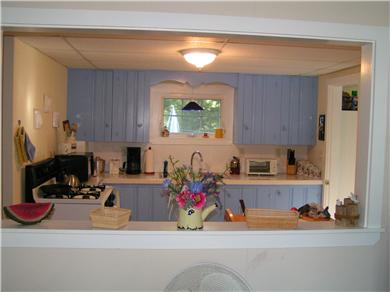 East Falmouth Cape Cod vacation rental - Kitchen from dining area