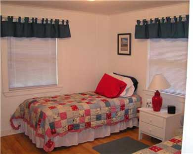 East Falmouth Cape Cod vacation rental - Bedroom with twin beds
