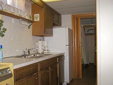Great Sand Lakes, East Harwich Cape Cod vacation rental - Kitchen in downstairs apartment