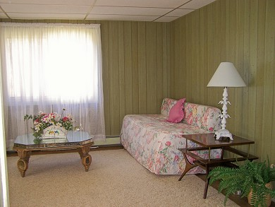 Great Sand Lakes, East Harwich Cape Cod vacation rental - Living room in downstairs apartment