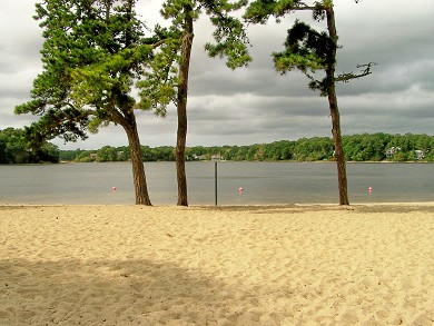 Great Sand Lakes, East Harwich Cape Cod vacation rental - Great Sand Lake Beach