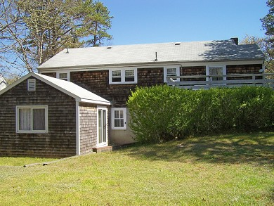 Great Sand Lakes, East Harwich Cape Cod vacation rental - Spacious Backyard with deck