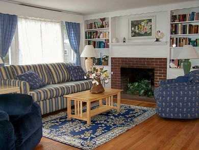 Great Sand Lakes, East Harwich Cape Cod vacation rental - Living Room