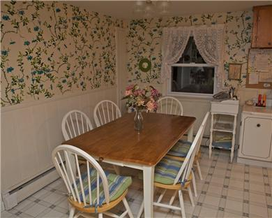 Great Sand Lakes, East Harwich Cape Cod vacation rental - Dining Room