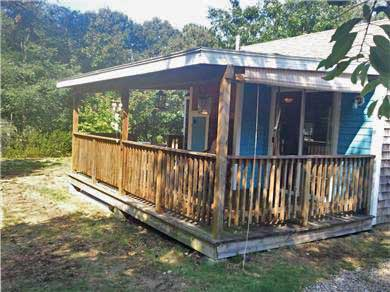 Eastham Cape Cod vacation rental - Outside and Deck
