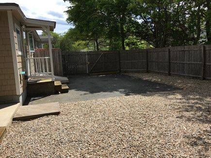 East Falmouth Cape Cod vacation rental - Side Yard with Outdoor Shower