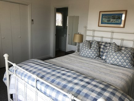 Wellfleet Cape Cod vacation rental - Master Bedroom with private balcony, great views and ensuite bath