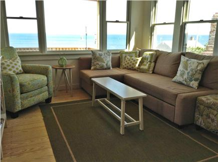 Wellfleet Cape Cod vacation rental - Living area with water views