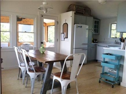 Wellfleet Cape Cod vacation rental - Dining room and New Kitchen