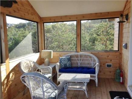 Wellfleet Cape Cod vacation rental - Screened Porch