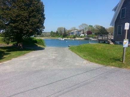 Bourne (Pocasset) Pocasset vacation rental - Boat launch in local neighborhood.