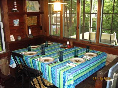 Bourne (Pocasset) Pocasset vacation rental - Dining area in the great room seats 6 comfortably