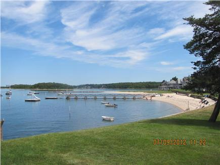 Bourne (Pocasset) Pocasset vacation rental - Private beach a block away with a boat dock and swimming raft